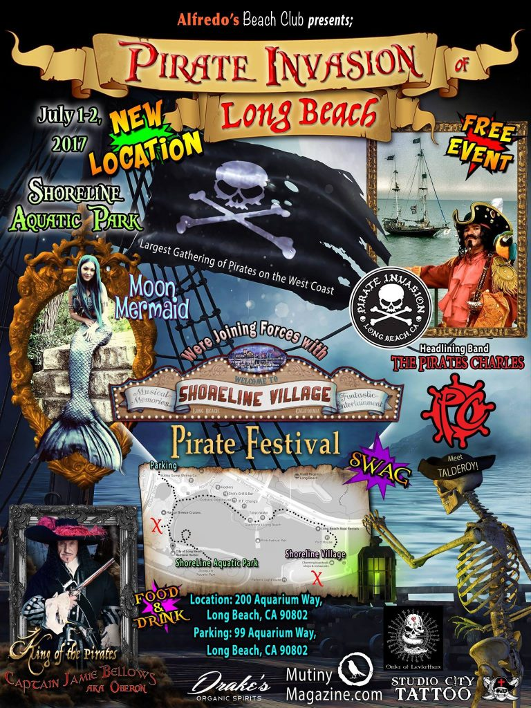 Long Beach Pirate Invasion