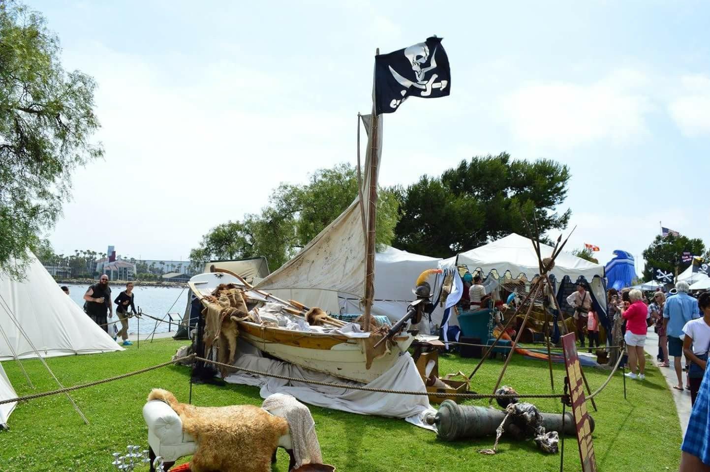 pirate invasion long beach