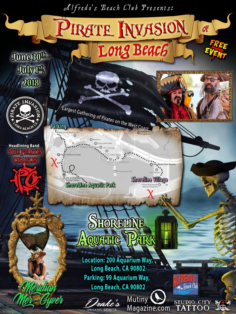 pirate invasion long beach 2018