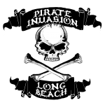 Pirate Invasion Long Beach t shirt