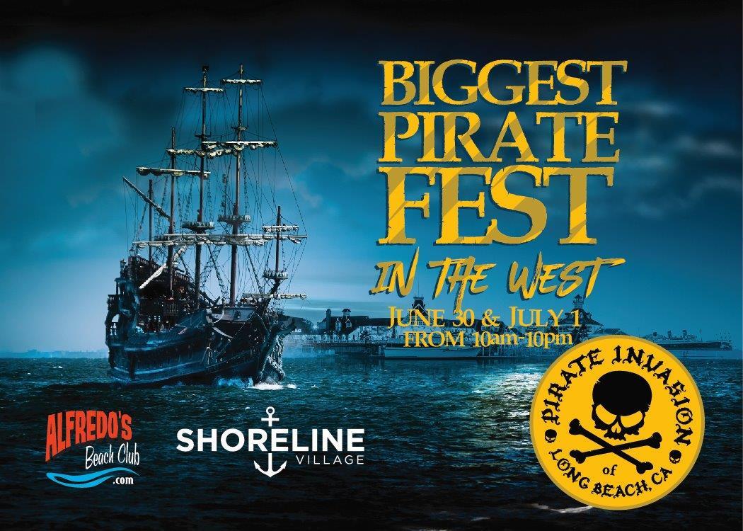 Long Beach Shoreline Village Pirate Festival