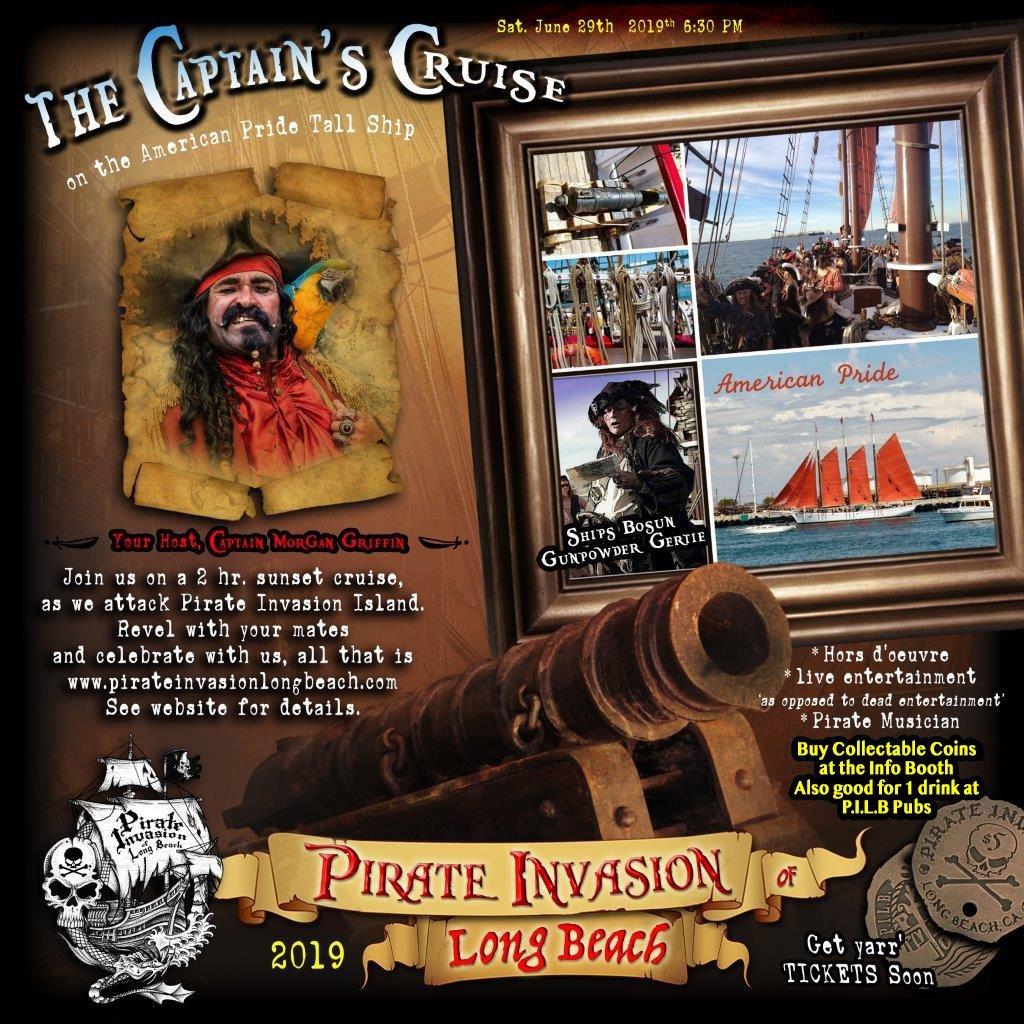Pirate Invasion Long Beach Cruise 2019