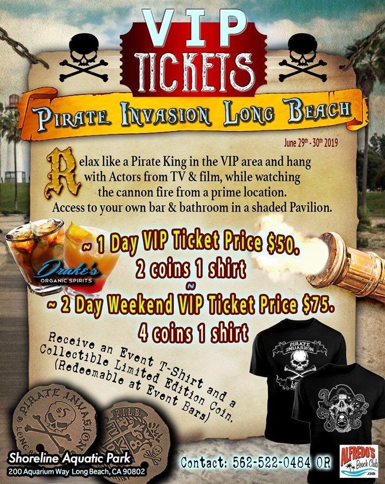 Pirate VIP Very Important Pirates Lounge - Pirate invasion Long Beach